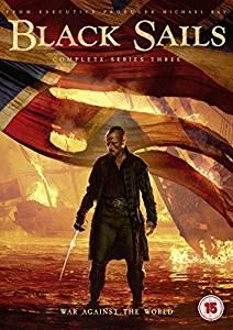 Black Sails, kausi 3, DVD (uusi)