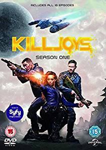 Killjoys, kausi 1, dvd (uusi)
