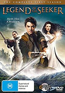 legend of the seeker kausi 1 dvd