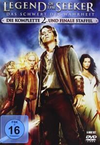 Legend of the Seeker, kausi 2, dvd
