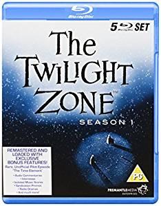 The Twilight Zone, kausi 1, Blu-ray (uusi)