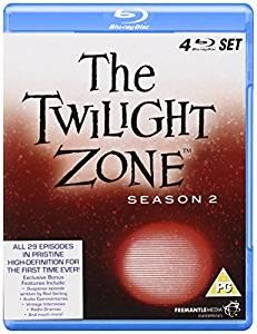 The Twilight Zone, kausi 2, Blu-ray (uusi)