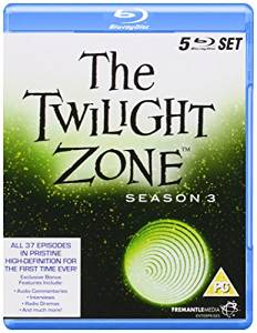 The Twilight Zone, kausi 3, Blu-ray (uusi)